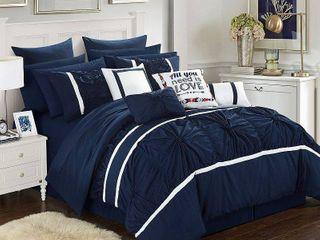 Chic Home Ashville 16 Pc King Comforter Set Bedding