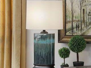 Copper Grove Boucherville Ceramic Table lamp
