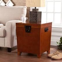 Copper Grove liatris Espresso Trunk End Table Retail 139 99