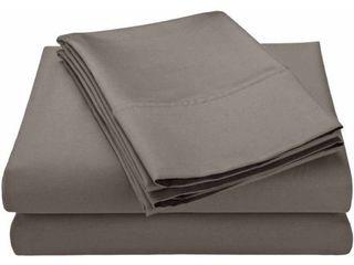 Superior 600 Thread Count Deep Pocket Cotton Blend King Bed Sheet Set