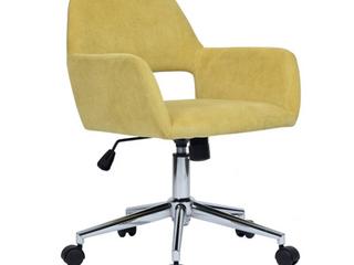 Porch   Den Sabrina Velvet Home Office Swivel Chair Retail 132 99