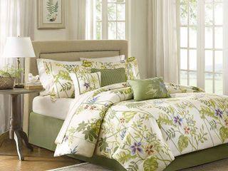 Madison Park Hana Cotton Comforter Set Queen  Retail 99 99