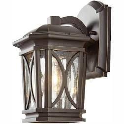 Copper Grove Atikaki 1 light Bronze Wall lantern