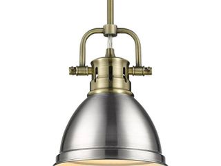 Duncan Mini Pendant with Rod  Retail 85 00 by Golden lighting