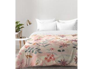 Wonder Forest Feminine Floral Comforter Twin