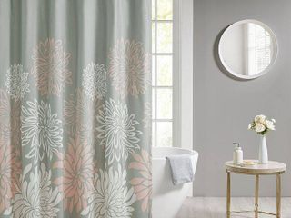 Madison Park Essentials Caldwell Printed Floral Shower Curtain