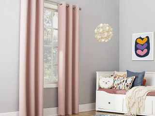 Sun Zero Riley Kids Bedroom Blackout Grommet Curtain Panel 40 x 95