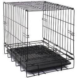20  to 48  Folding Metal 2 Door Pet Kennel Playpen Dog Crate