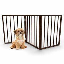 3 Panel Freestanding Pet Gate by PETMAKER