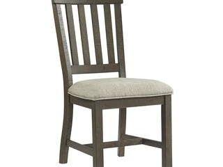 Intercon Sullivan Burnished Clay Slat Back Side Chairs  Set of 2