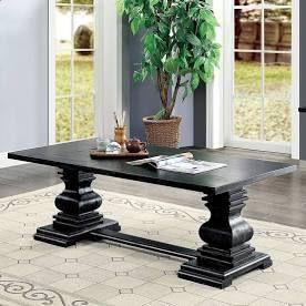 Gracewood Hollow Digish Antique Black Coffee Table  Retail 442 99