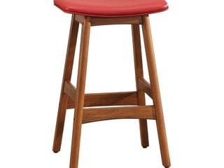 Fremont  amp  Park Imani Counter Height Stool  Set of 2  Retail 127 49