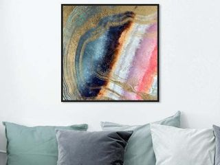 Oliver Gal Abstract Wall Art With Framed Canvas