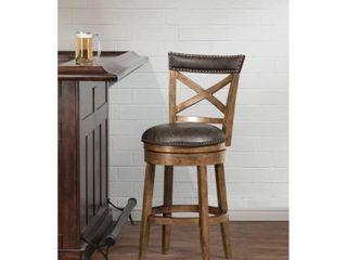 Hillsdale Furniture Glen Cove Swivel Bar Height Stool