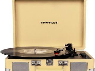 Crosley Radio Cruiser Deluxe Bluetooth Turntable