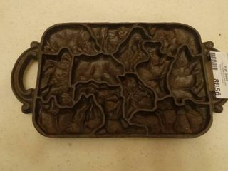 Cast Iron animal mold Pan