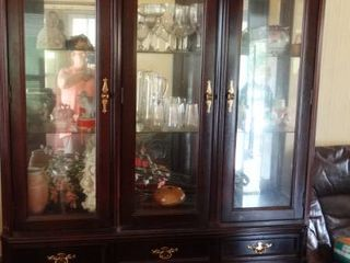 Bassett China Cabinet Made in USA