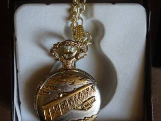 Biplane Pocket Watch