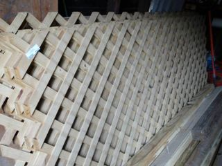 large lot of Wooden Trellis