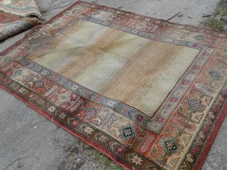 large Olefin Rug Made in Egypt 5 3  x 7 9