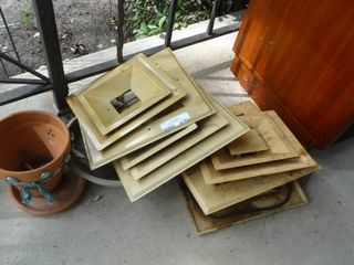 lot of Ceiling Vent Registers
