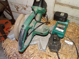 Makita 18V Cordless Miter Saw with 3 Batteries and Charger