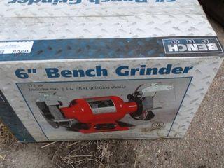 6  Bench Grinder