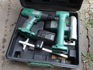 Cordless Nikota Circular Saw and Drill