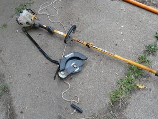 Ryobi Sting trimmer with Edger Attachment
