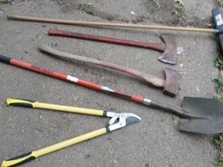 lot of long Handled tools