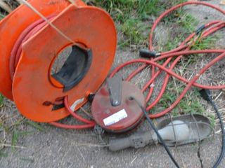 Extension Cord Reel and Work light