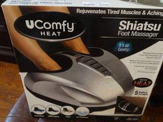UComfy Shiatsu Foot Massager with Heat in Box