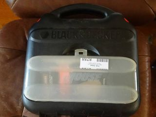 Black   Decker Mouse Sander Polisher in Case with Misc  Sandpaper