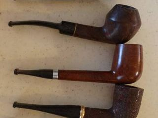 lot of 5 Tobacco Pipes