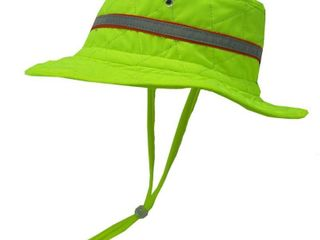 HyperKewl XX large Cooling Hat with High Visibility Tape  Adult Unisex  Green