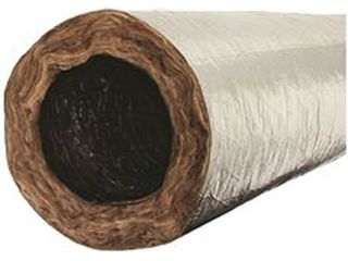 Flex Duct 12 In  Diameter  R 6 Insulation Value  Mobile Home