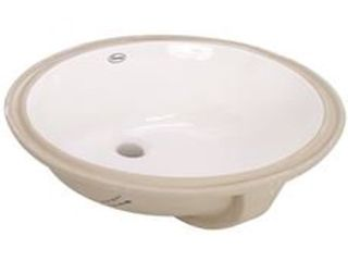 PREMIER UNDERMOUNT lAVATORY SINK  21 1 2 IN  X 15 3 4 IN  WHITE
