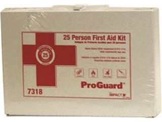 Impact Products Imp7318 Kit First Aid White For 25 People