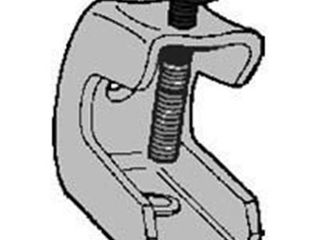 Topaz Electric 122S Beam Clamp 0 25  20 in  Malleable Iron