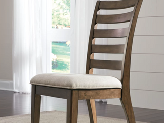 Flynnter Dining Room Chair  Set of 2  Retail 250 99