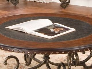 Riviera Round Coffee Table Top by Greyson living by Greyson living  Retail 343 99