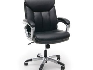 OFM Essentials Collection Mid Back Executive Office Chair  in Black  ESS 6020