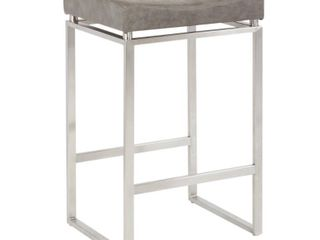 Sherese 30 inch Contoured Seat Counter Stool  Set of 2  Retail 289 49