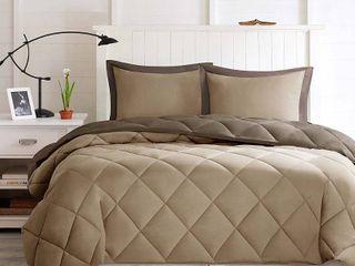 Porch   Den McCloy Reversible Down Alternative Comforter Mini Set  King  Retail   156 84