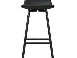 Avenue Greene Ciara Upholstered low Back Bar Stool   Retail 81 99