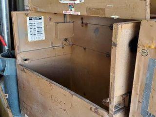 5ft Knaack Job Box On Casters
