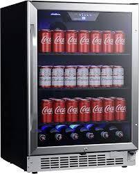 EdgeStar CBR1502SG 24 Inch Wide 142 Can Built In Beverage Cooler