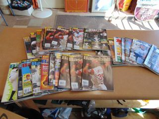 Box of Baseball magazines Griffey