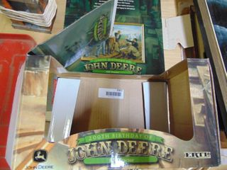 2 Collectable Tractor Boxes
