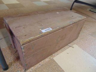 Wooden Crate Toolbox